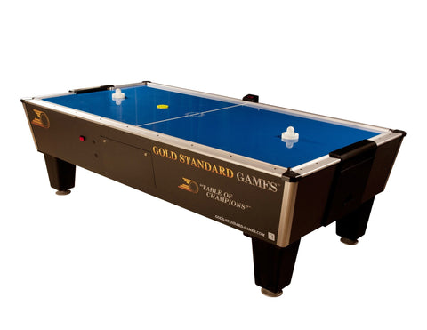 Sage Arcade Gold Standard Games Tournament Pro Air Hockey Table 8HGS-W01-TRS Air Hockey Gold Standard Game