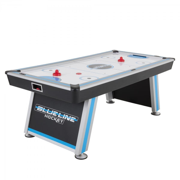 "Sage Arcade Triumph 7' 84"" Blue Line Air Hockey Table Air Hockey Triumph"