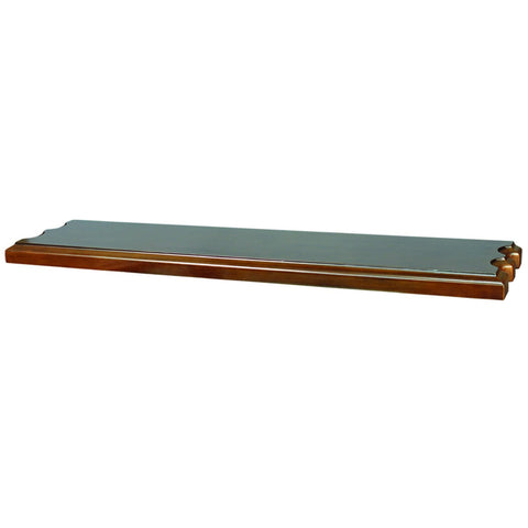 Sage Arcade Wood  Wall Shelf with cue rests WSLF BLK Cue Rack RAM