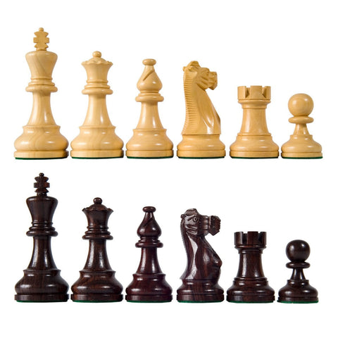 Sage Arcade American Staunton Chess Pieces Rosewood, Sheesham, Ebonized Chess WBG