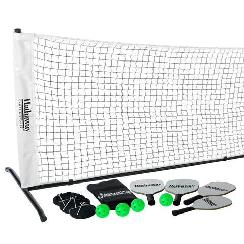 Sage Arcade Hathaway Sports Deluxe Pickleball Game Set Full Kit Outdoor Games The Hathaway Sports