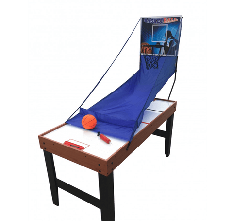 Sage Arcade Multi Game Accelerator 4-In-1 Air Hockey, Table Tennis, and Arcade Basketball Multi-Game Tables Carmelli