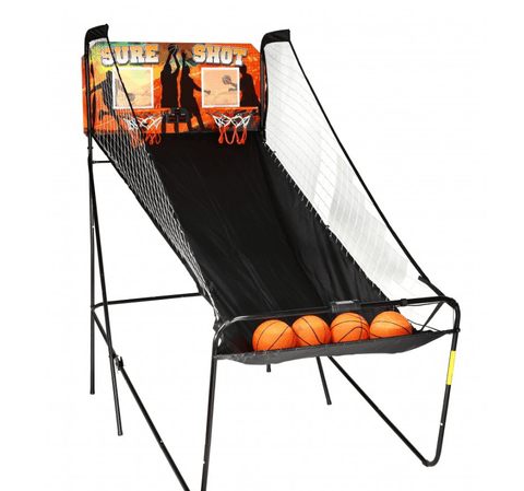 Sage Arcade Sure Shot Electronic Arcade Indoor Basketball Game Basketball Carmelli