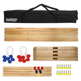 Sage Arcade Hathaway Sports Solid Wood Ladder Toss Game Set Outdoor Games The Hathaway Sports