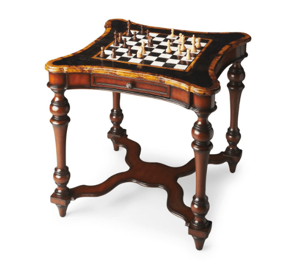 Sage Arcade Butler Furniture Chess Game Board Table 2955070 Game Table Butler Furniture