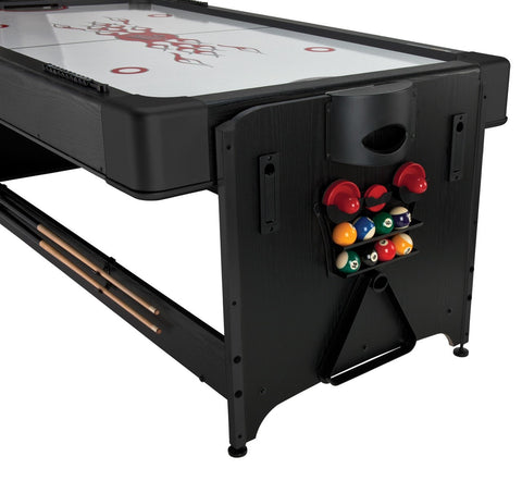 ... Sage Arcade Fat Cat Original Pockey 3 In 1 Billiards Air Hockey And  Ping Pong Game ...