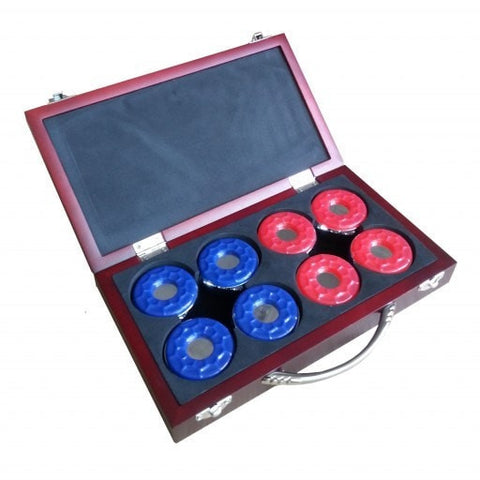 Sage Arcade Shuffleboard Pucks W/ Case - Set Of 8 Shuffleboard Tables Carmelli