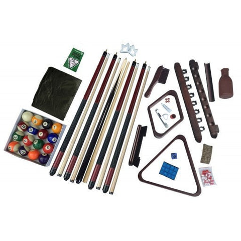 Sage Arcade Carmelli Deluxe Billiards Accessory Play Kit Pool Tables Carmelli