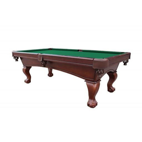 Sage Arcade Westport 8' Antique Walnut Slate Pool Table Pool Tables Carmelli