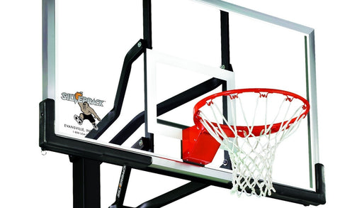Sage Arcade Silverback SB60 In-Ground Outdoor Basketball Hoop Basketball Silverback