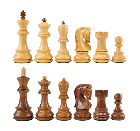 Sage Arcade Zagreb Wood Chess Pieces Sheesham Chess WBG