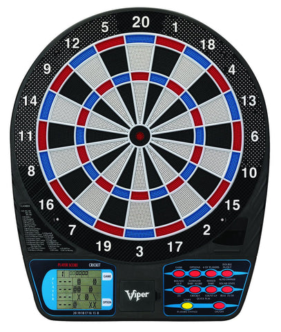 "Sage Arcade Viper 787 15.5"" inch Regulation Size Battery Operated Electronic Dartboard LCD Scoreboard Darts Viper"