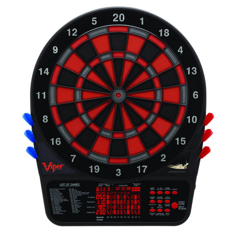 "Sage Arcade Viper 800 15.5"" Tournament Quality Electronic Dartboard Darts Viper"