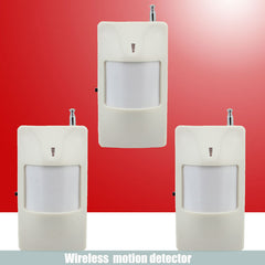 Wireless Infrared detector Motion Sensor 3pcs 433 MHz Home Alarm System