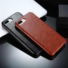 FLOVEME Vintage Flip Leather Case for iPhone 6 6s 7 / 7 Plus Deluxe Grease