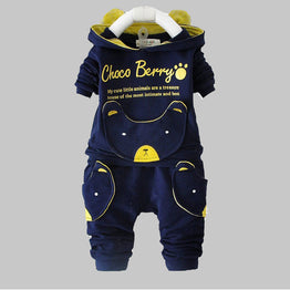 New Spring Autumn Long Sleeve tops + pants suits for Baby Boy