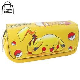 Pokemon Pocket Monster  Pencil Case Large Capacity Organizer Bag Wallet