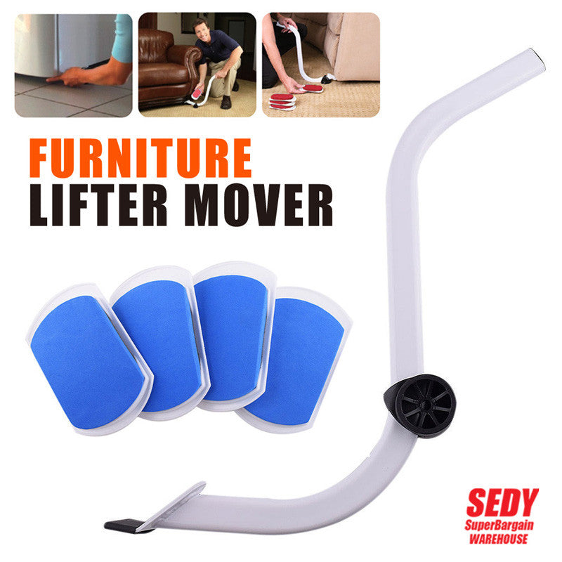 Furniture Moving System with Lifter Tool and 4 Slides Tools