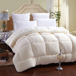 Winter Quilt Warm Thick Quilt Comforter Blanket Duvet