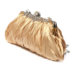 Fashion Lady Clutch Party Wedding Handbag Purse Girl Soft Evening Bag Bridal Women