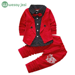 2 Pieces Set Gentleman Suit for Baby Boy