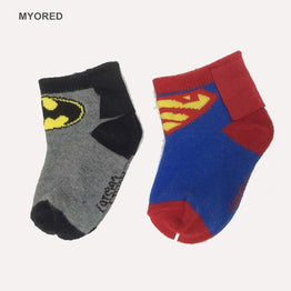0-2Year DC superheroes boy girl infants child baby socks