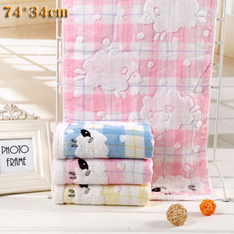 Embroidery Baby Washcloth Towel