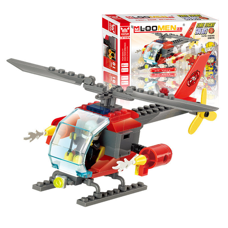 89pcs DIY Helicopters Building Blocks