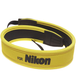 Full Yellow Neoprene Neck Strap Belt for Nikon