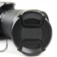49mm 52MM 55mm 58mm 62mm 67mm 72mm 77mm Snap-On Front Lens Cap/Cover f
