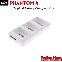 Phantom 4 Intelligent Flight Battery Charging Hub Can Charge Up to Three Batteries