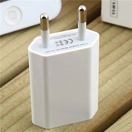 Universal USB AC EU / US Wall Power Adapter