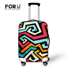 3D Portable Elastic Travel Luggage Cover Stretch Protect Suitcase