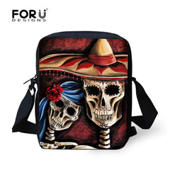 3D Animal Women Messenger Crazy Horse Shoulder Bag Casual Travel Crossbody Bags For universal