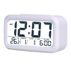 LCD Screen Display Desktop Alarm Clock Digital Back light Clocks