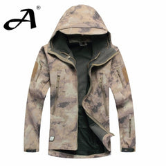 Army Camouflage Coat Military Waterproof Jacket