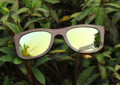 Bamboo fashion polarized sunglasses popular new design wooden sunglasses