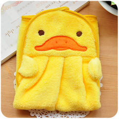 Animal Microfiber Kids Children Cartoon Absorbent Hand Towel