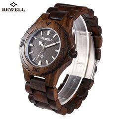 Luxury Dress Men Waterproof Elegant Wood Watch
