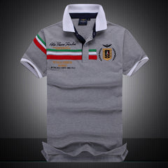 Aeronautica Militare Men Polo Shirt Summer Style Short Sleeve