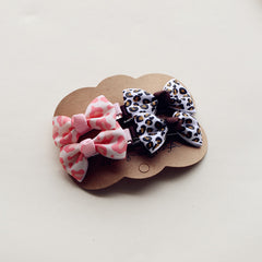 4PCS/part Newly Design Grosgrain Baby Small Bow Hairpins Hair Clips