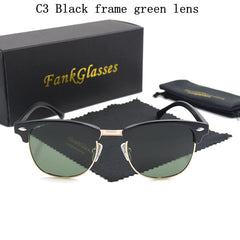 FankGlasses Polarized Sunglasses Men Women with Box
