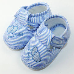 Heart-Shaped Anti-slip / Skid-proof Cotton Baby Shoes