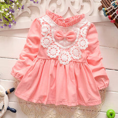 Spring Baby Girl Cotton Dresses Sleeveless