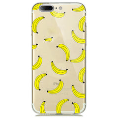 Silicon fruit Lemon Banana Emojio TPU case For Apple Iphone 7