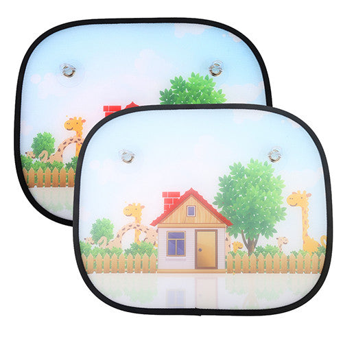 2 pcs. Universal Car Window Sun Shades