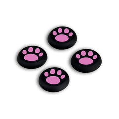 4 PCS Replacement Gamepad Sticker Controller Catlike Thumb Stick