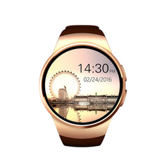 KW18 Bluetooth smart watch full screen Support SIM TF Card