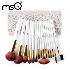 Makeup Brushes Set Synthetic Hair Make Up Brush 15pcs
