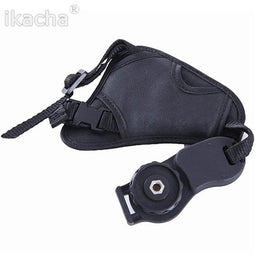 Leather Hand Grip Wrist strap for DSLR Camera